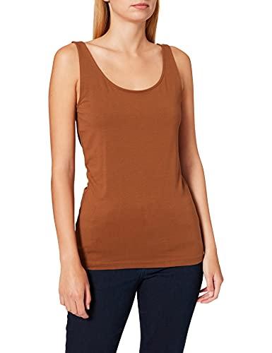 Esprit 997EE1K816 T-Shirt, 225/café, XXL Femme