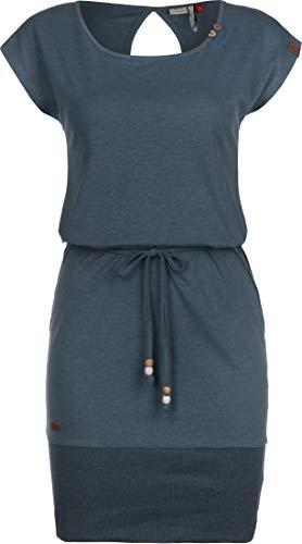 Ragwear W Soho Blau, Damen Kleider, Größe S - Farbe Denim Blue