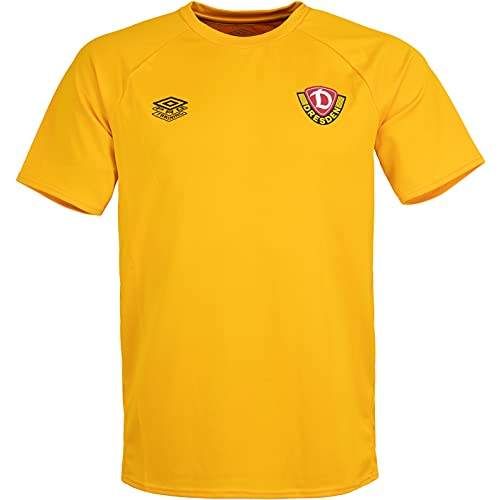 UMBRO Dynamo Dresden 21/22 SGD - Camiseta de fútbol, color negro, Zinnia., L