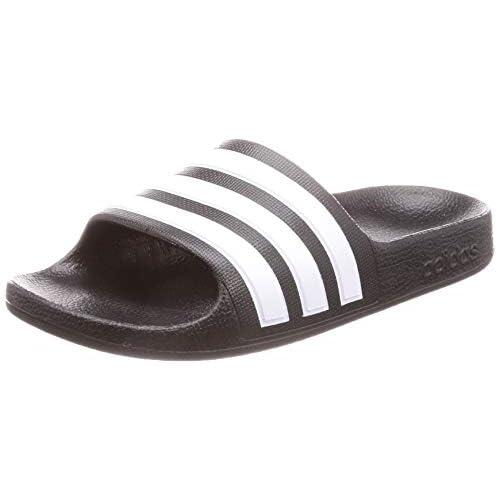 adidas Adilette Aqua Slides, Infradito Unisex-Bambini, Nero (Core Black/Cloud White/Core Black), 28 EU
