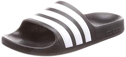 adidas Adilette Aqua K, Zapatillas de Deporte Unisex Niños, Negro (Negbás/Ftwbla/Negbás 000), 34 EU