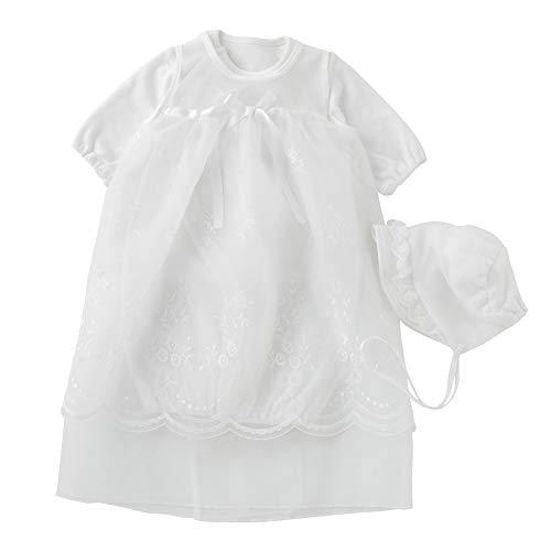 (チャックル) chuckle チャックルベビー オリジナル セレモニードレス 3点セット 【 通年素材 】 ホワイト 50-60cm P5386E-00-10