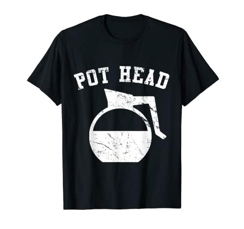 Coffee Pot Head T-Shirt