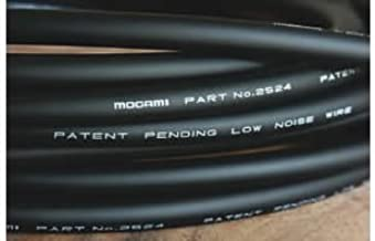 Mogami 2524 INSTRUMENT/GUITAR/FX CABLE BULK UNTERMINATED 10 FOOT LONG CABLE