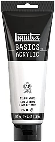 White acrylic tubes