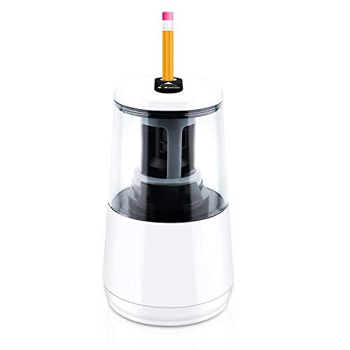 Sadubty - Sacapuntas eléctrico automático para lápices de colores (6-8 mm), USB/batería...