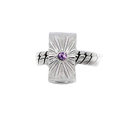 Sexy brilla de las mujeres Clip Lock Stopper Bead con S 2claro silicona para cadena de serpiente encanto