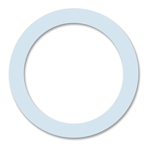 Cuisinox Silicone Gaskets for 9 Cup Espresso Makers, White