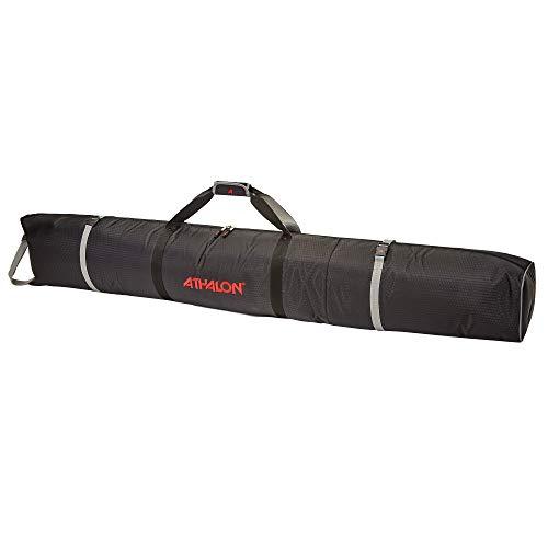 Athalon Double Padded Ski Bag (Black, 180cm)