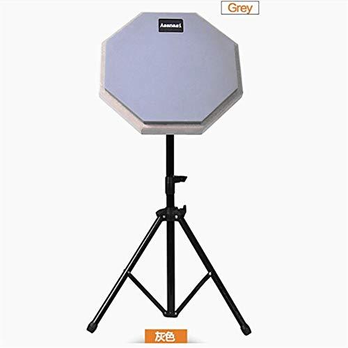 8-Zoll-Trommeln stumm Drum Übungspad stumm Drum-Kit Anfänger Eintrag Anzug stumm Drum Pad Guban Pads ( Color : Grey )