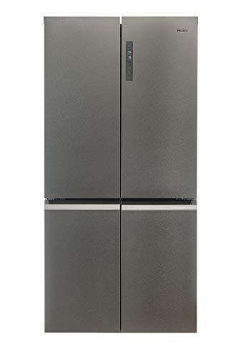 Haier HTF-540DP7 CUBE Serie Kühl-Gefrier-Kombination / Multi Door / 190 cm / 354 L Kühlteil / 174 L Gefrierteil / ABT / MyZone / Humidity Zone / Super Kühl- und Gefrierfunktion / Total No Frost