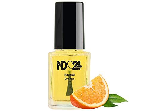 Nagel Pflege Öl Pinselflasche Orange - 12ml