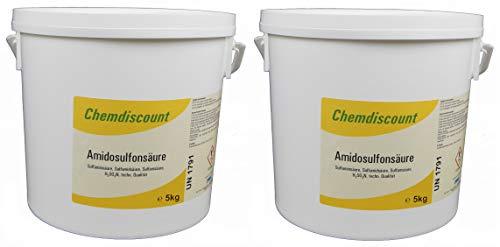 10kg (2x5kg) Amidosulfonsäure Sulfaminsäure Entkalker Kalkentferner