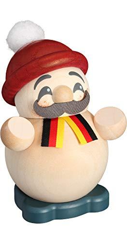 Seiffener Volkskunst Fumador - Guy alemán - Figura de bola - 9...