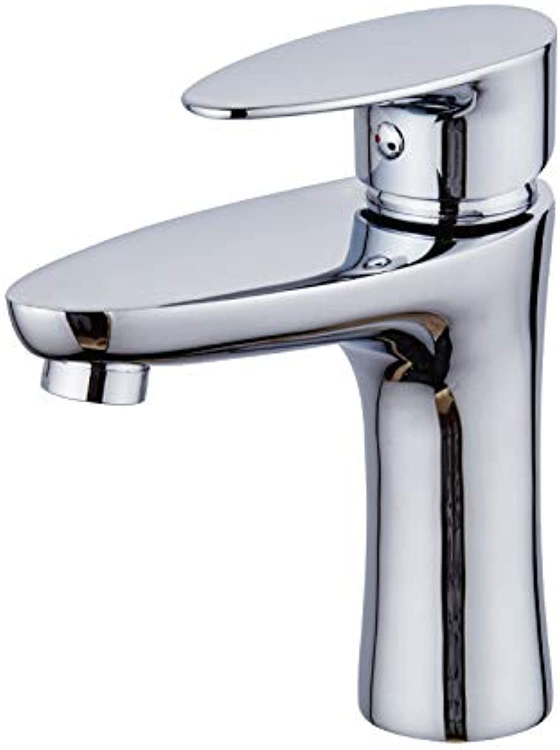 Aimeishi Hot and cold water faucet_Bathroom basin faucet bathroom bathroom hand wash single hole hot and cold wash basin