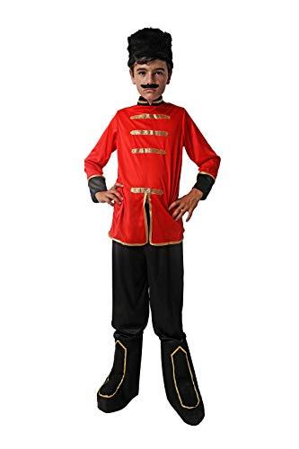 Costumizate! Disfraz de Ruso Talla 5-6 Especial para niños Fiestas de Disfraces o Carnaval