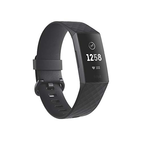 Bracelet Fitbit Charge 3 Exercices Nage Sommeil Fréquence Cardiaque - 0