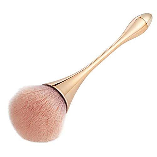 Ruesious Brocha de maquillaje, Pincel de maquillaje profesional corrector en polvo