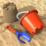 25 kg de arena de juego natural, grano 0 de 2 mm, arena de cuarzo, arena decorativa para niños, con certificado TÜV, alta calidad, tamizada, sin sustancias nocivas