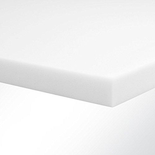 Basotect Schaumstoff G+ hellgrau (LxB) 100x50cm Stärke 2-10cm - Absorber zur wirksamen Nachhallreduzierung in Innenräumen