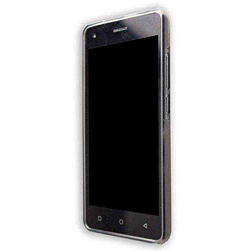 caseroxx TPU-Hülle für Archos 50B Cobalt / 50B Cobalt Lite, Handy Hülle Tasche (TPU-Hülle in schwarz-transparent)