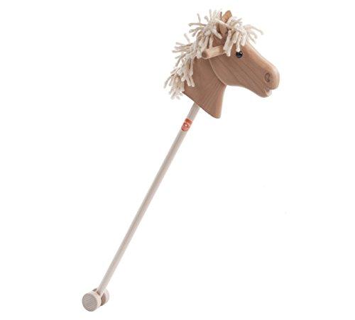 Sweety Toys 10707 Steckenpferd Holz Haflinger