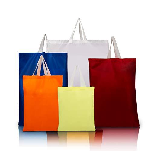 Bolsas de compras reutilizables ecológicas para comestibles, paquete de 5 bolsas de...