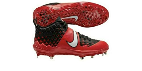 Nike Force Zoom Trout 6 University Red-Black AT3464-602 Men's Metal Baseball Cleats 13 US