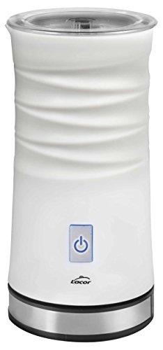 Lacor 69396 Mousseur à Lait électrique 3 en 1 de 500 W Blanc, 0.24 liters