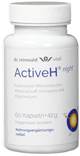 dr.reinwald Active H night – Nahrungsergänzungsmittel mit beruhigendem Magnesium & Selen für die Nacht – Für die Zell-Energie & gegen oxidativen Stress – 60 Kapseln