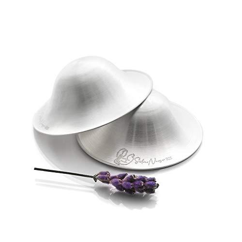 Silver Nursing Cups, Breast Shells, Natural Healer, Nipple Soother, Cracked Nipple Healer, Breastfeeding Silver Nurse Cups