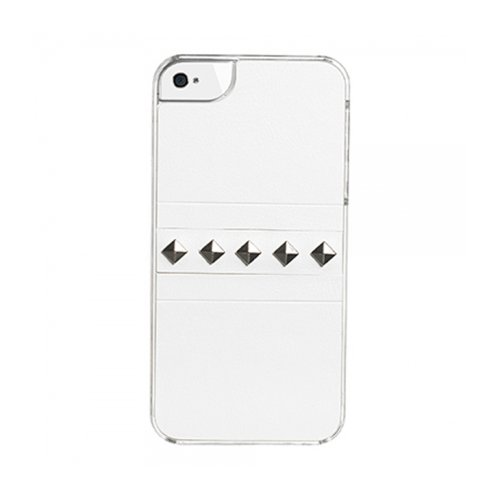 Celly Glcovsip404 Glamme Backcover für Apple iPhone 4/4S weiß