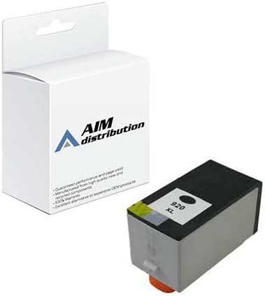 AIM Compatible Replacement for HP NO. 920XL Black Inkjet (1200 Page Yield) (CD975AN) - Generic