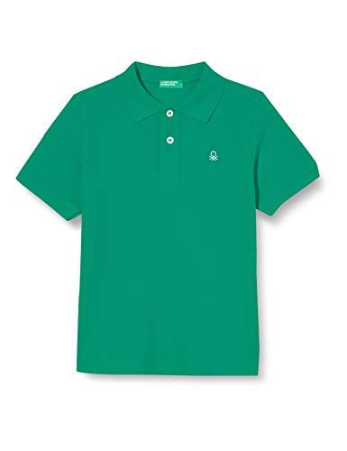United Colors of Benetton (Z6ERJ) Jungen Maglia Polo M/M Polohemd, Bright Green 108, XL