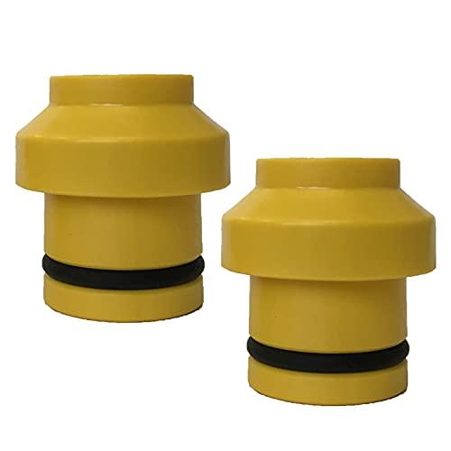 SeaSucker - Tapones para horquilla delantera Huske (15 x 110 mm), color dorado