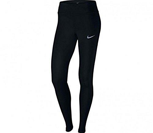Nike Damen W NK Power Epic LX Crop MESH Lauftights, Schwarz, L