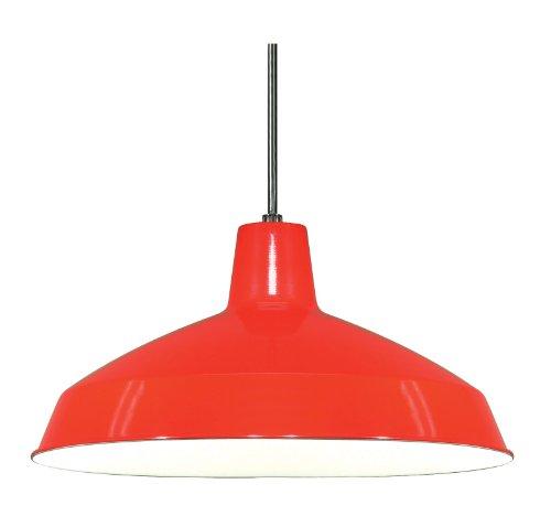 Nuvo Lighting SF76/663 Warehouse Shade, Red