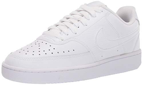 Nike Damen Court Vision Low Sneaker, White White White, 38 EU