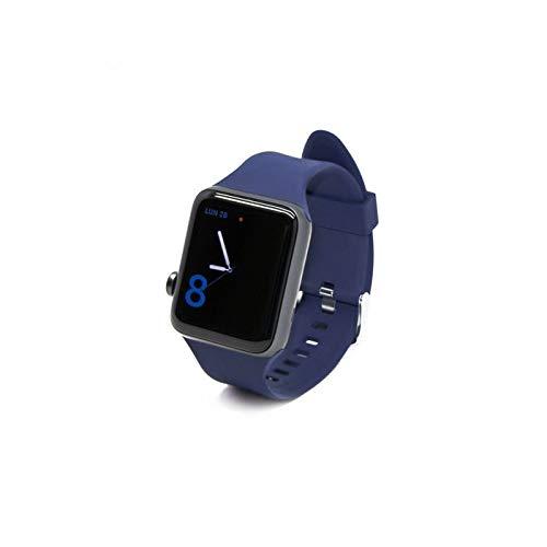 aiino - Cinturino in Silicone per Apple Watch, Compatibile con Apple Watch da 42 mm, Morbido Maglia in Silicone - Uomo e Donna