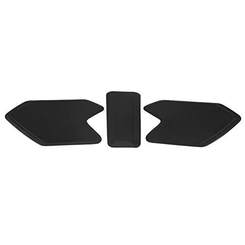 Suuonee Tankpad, 1 set zelfklevende zwarte motorolie tankpad-beschermstickers voor R1200GS ADV 2014-2017