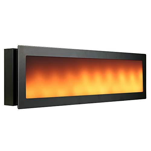 Eterbiz LED Flackernde Wandlampe, Dekoratives Flammen-Feuer-Effekt-Licht, 4.5W/13W, 3000K, Dual-Modi-Dekorative Flamme Warme Wandlichter (BL)