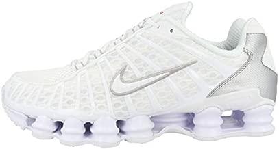 Nike Shox TL Mens Running Trainers AV3595 Sneakers Shoes (UK 8 US 9 EU 42.5, White Metallic Silver 100)
