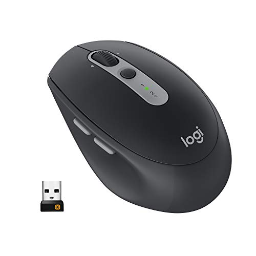 Logitech M590 Multi-Device Silent Mouse Wireless, Nero