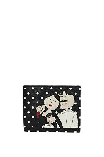 Portafogli Dolce&Gabbana patch d&g family Uomo - Pelle (BP1321AI062HN28W)