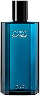 Cool Water Cologne by Davidoff, Eau De Toilette Spray for Men,4.2 Fl Oz, Pack of 1