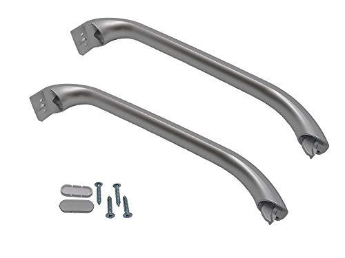 Kit Tirador puerta frigorífico 31,5 cm (315 mm) 2PCS Inox compatible 00369551