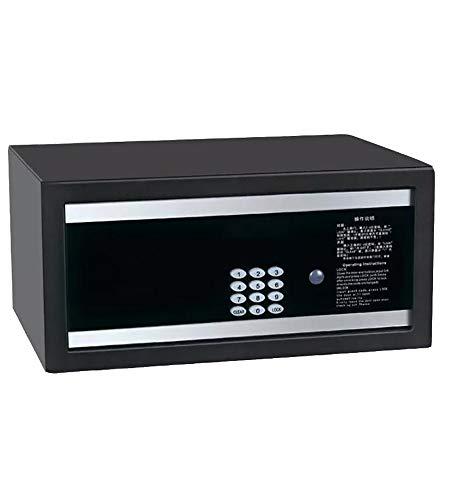 LLC Caja Fuerte electrónica, contraseña Inteligente como Caja Fuerte Digital, Caja Fuerte del Hotel, Caja contraseña, Seguro antirrobo, Utilizada para almacenar Diversos Objetos de Valor