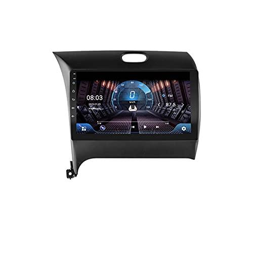4G + 64G DSP 2 DIN Android 9.1 4G Net Car Radio Multimedia Video Player para KIA K3 CERATO Forte 2013-2017 WiFi BT Carplay(Size:Ocho núcleos,Color:WiFi:1GB+16GB)