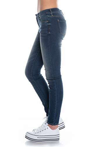 ARMANI EXCHANGE 9,5 Ounces Stretch Mid Wash Jeans Skinny, Blu (Indigo Denim 1500), 46/L28 (Taglia Unica: 32) Donna