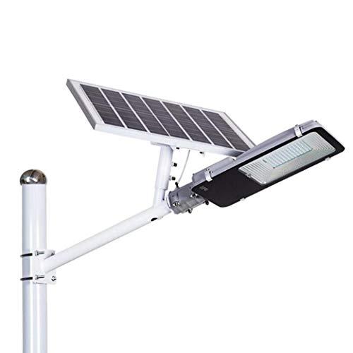 Buitenlamp op zonne-energie, IP65, schijnwerper, 100 watt, met palen afstandsbediening, donker zonsopgang, veiligheidsverlichting voor tuin, kanaal